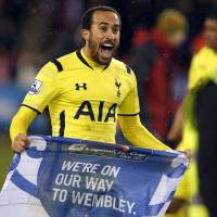 Spurs sweep into League Cup final