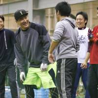 Tanaka says everything fine after workout with former Rakuten teammates