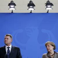 Merkel hopes Moldova isn't in Russia's sights after Ukraine