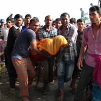 At least 31 killed after Bangladesh river ferry sinks following accident