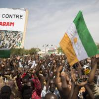 Thousands march against Boko Haram in Niger