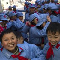 China's 'little red soldiers' get lessons in loyalty
