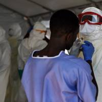 Ebola cases on the rise for first time this year, WHO says