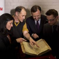 First Folio found in France to visit Shakespeare's Globe