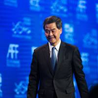 Hong Kong's leader urges critical flock to behave like sheep