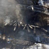 In U.S., 10 oil-train derailings predicted over next two decades