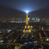 Unidentified drones reappear over Paris at night