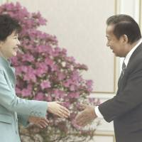 LDP executive, South Korea's Park agree on need to resolve issue of wartime forced prostitution