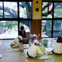 Shinto priest advocates 'prayer and care' education at Kyoto nursery school