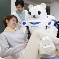For elderly, Robear is a powerful pick-me-up