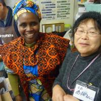 Rwandan genocide survivor living in Fukushima bonds with evacuees