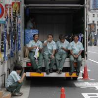 Under Japanese law, breaks are sacred and standby counts as work