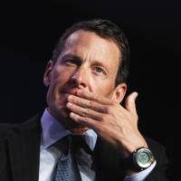 Armstrong let partner take blame for collision