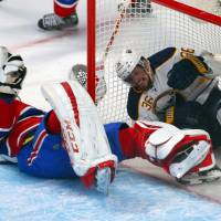 Sabres snap record skid