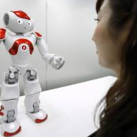 Japanese are quick to embrace robots