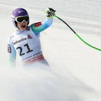 Maze reigns in women's downhill at worlds