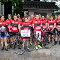In lycra and online, foreigners are doing their bit for Tohoku