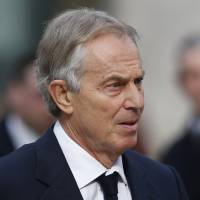 Blair not forced out of Mideast role: U.S.
