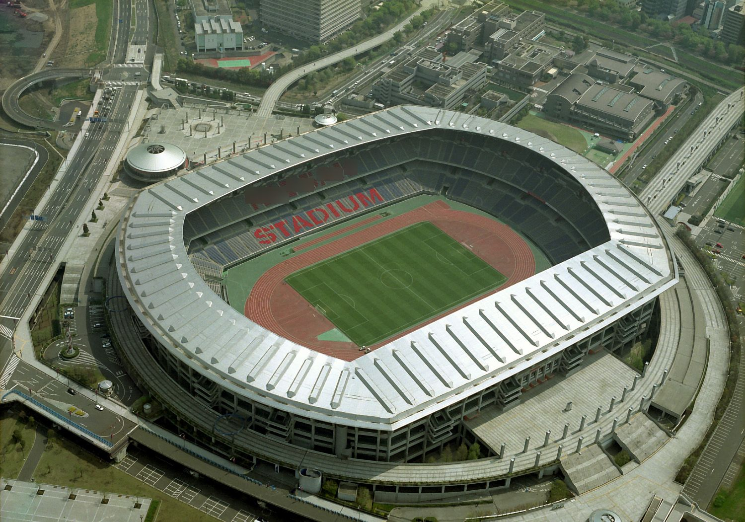 International Stadium Yokohama (Nissan Stadium) Capacity: 72,327 Address: 3300 Kozukue-cho, Kohoku-ku, Yokohama, Kanagawa Pref. Notes: home of Yokohama F. Marinos (J. League first division)