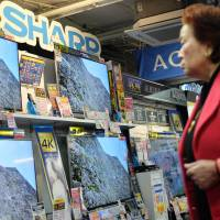 Sharp mulls ending overseas TV output except for China
