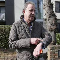 'Top Gear' presenter Clarkson brushes off suspension