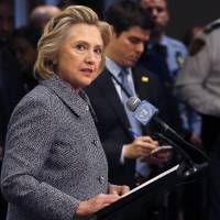Clinton admits it would have been better to have second email address