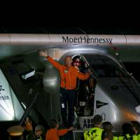Solar Impulse lands in top carbon-polluter China after 22-hour flight from Myanmar