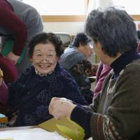 Return of Fukushima elderly gives preview of future