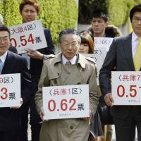Osaka court says 2014 vote gap in 'state of unconstitutionality'