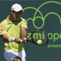 Nishikori stays hot in Miami