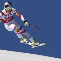 Vonn clinches World Cup super-G title and equals Stenmark