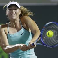 Sharapova knocked out in second round at Miami Open