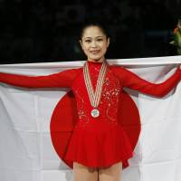 Miyahara earns silver at worlds