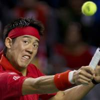 Nishikori's win over Raonic not enough to send Japan past Canada