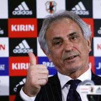 Halilhodzic confident of getting Japan back on track