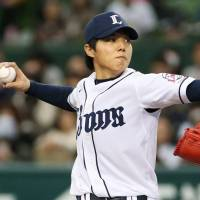 Kuo earns first win in Japan as Lions sweep Buffaloes