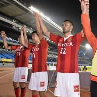 Grampus striker Kawamata puts on show for Halilhodzic