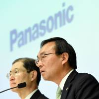 Panasonic's group net profit rose 49% in fiscal 2014