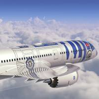 ANA unveils plans for R2-D2-themed Dreamliner