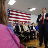 Pushing Social Security reforms risky gambit, Christie admits