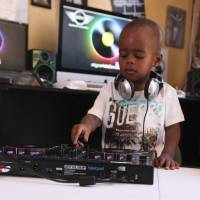 Toddler becomes DJ in South Africa