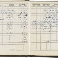 Moving Enola Gay pilot's log copy fetches $50,000 at N.Y. auction