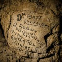 WWI graffiti in France reveals trench soldiers' experience