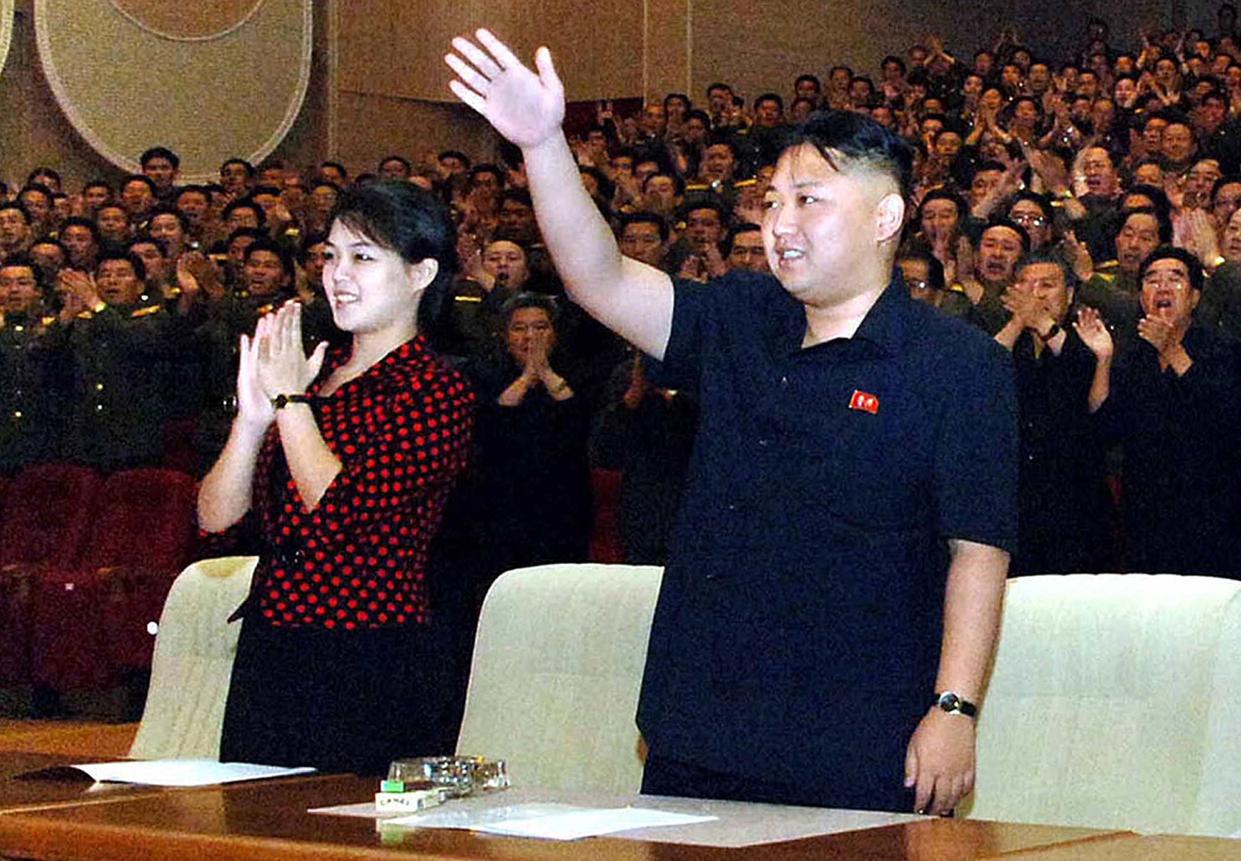 Wife Of North Korea S Kim Makes First Public Appearance This Year The Japan Times