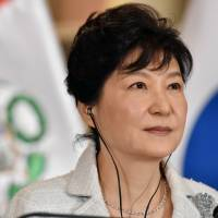 South Korea's Park on back foot amid ferry anger, corruption claims