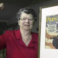 Model for Rockwell's 'Rosie the Riveter' painting dies at 92