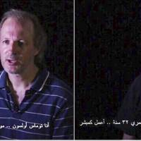 Two Swedish hostages held in Syria fly home