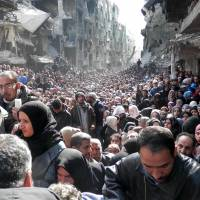 Plight worsens in besieged, Islamic State-overrun Palestinian camp in Damascus