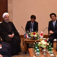 Japan's ties with Iran to grow after nuclear deal finalized, Abe says
