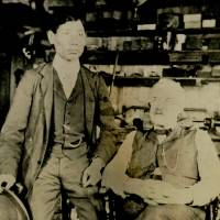 Photo possibly of John Manjiro, first Japanese to live in U.S., with skipper found in Massachusetts library